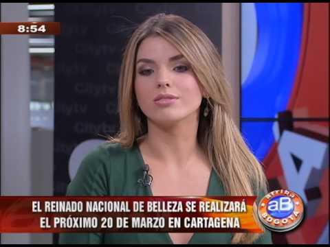 Entrevista en Citytv a la Señorita Bogotá Vanessa Dominguez