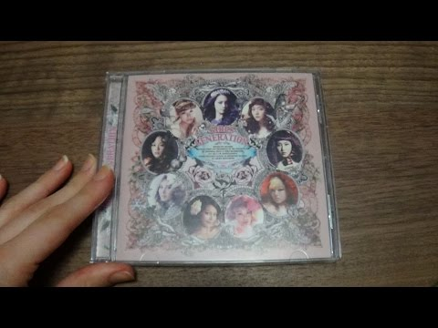 Unboxing Girls' Generation 소녀시대 3rd Studio Album The Boys (US Version)