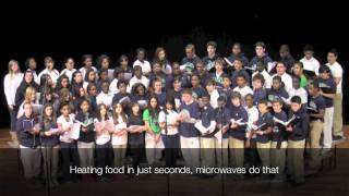 Electromagnetic Spectrum Song performed by the GAMP Concert Choir