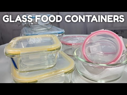 Glass Meal Prep and Storage Containers with Lids by Mealcon Unboxing