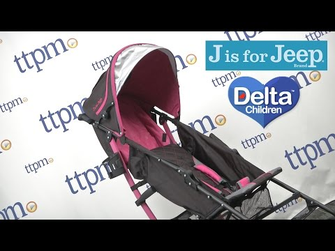Jeep Scout Stroller from Delta Children's Products