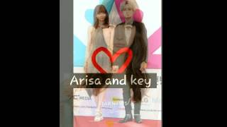 Arisa yagi and key shinee