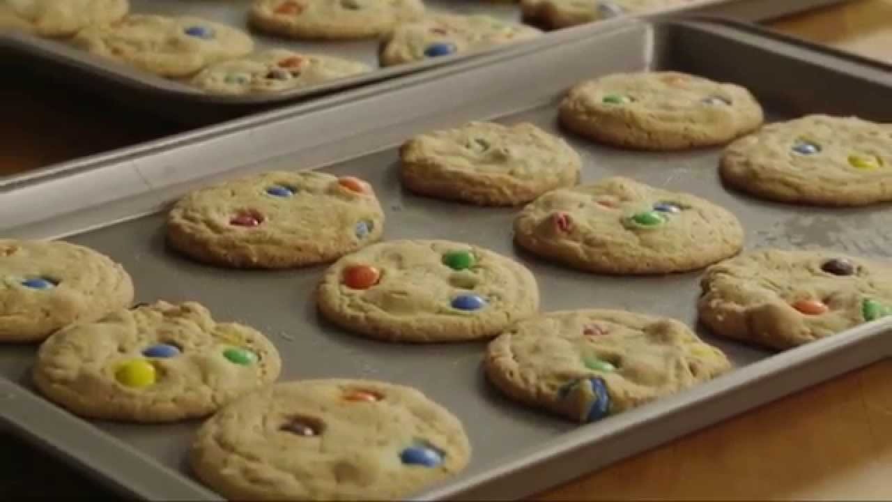 How To Make M M Cookies Cookie Recipes Allrecipes Com Youtube