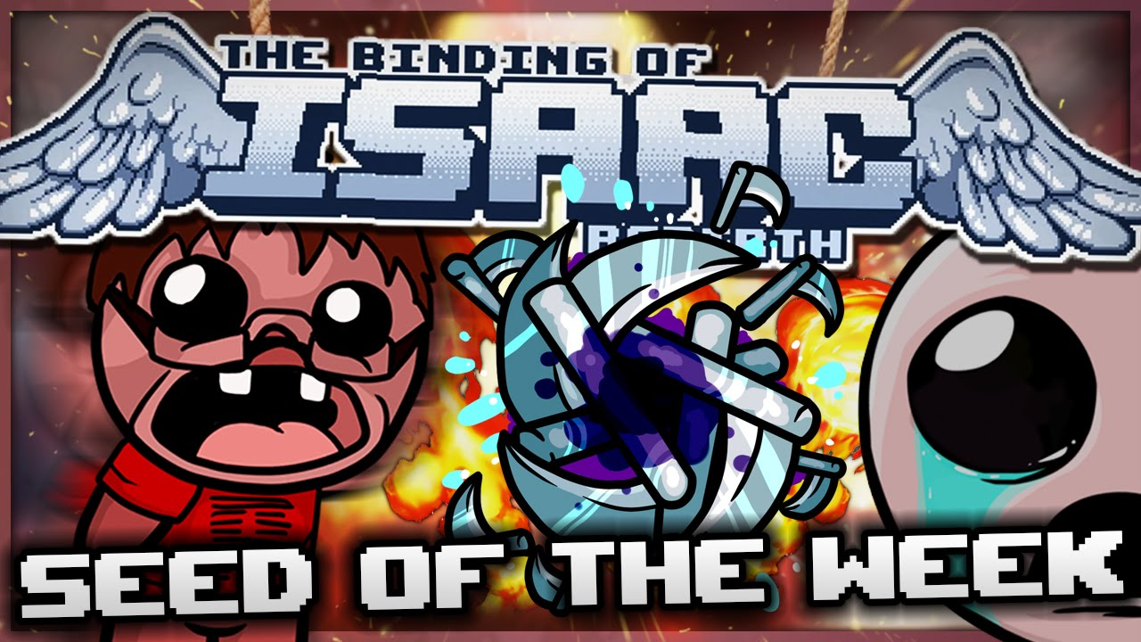 The Binding of Isaac: Rebirth - Seed of the Week: Black Hole Shuriken! -  YouTube
