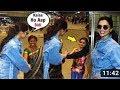 Deepika Padukone Shows Respect For Her Fans At Mumbai Airport