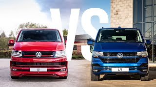 VW T6 vs T6.1 - What's Different? | Leighton Vans