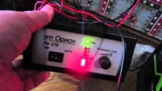 видео Пуско-зарядное устройство «Орион»