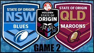 RUGBY LEAGUE LIVE 3 | NZ WARRIORS CAREER MODE | STATE OF ORIGIN GAME 2 (#13)