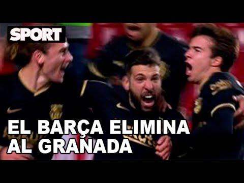 GRANADA - FC BARCELONA (3-5) 🔵🔴 TODOS LOS GOLES DEL PARTIDO NARRADOS POR LA RADIO📻