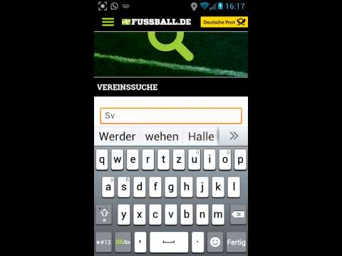 App Vorstellung #001[ Fussball.De]