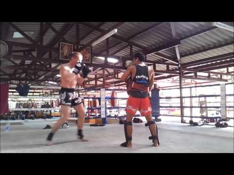 Muay thai, Kickboxing, Thailand, Phuket, Rawai gym, 2012, Igor Pacek