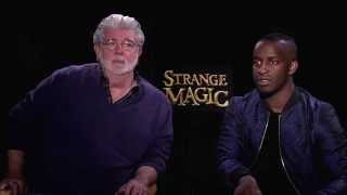 George Lucas & Elijah Kelley Interview - Strange Magic (2015) JoBlo Exclusive HD