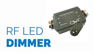 Radiografische LED dimmer met afstandsbediening - LEDsky.be