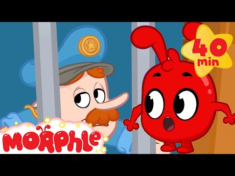 Morphle Saves Peter From JAIL - My Magic Pet Morphle | Cartoons For Kids | Morphle TV