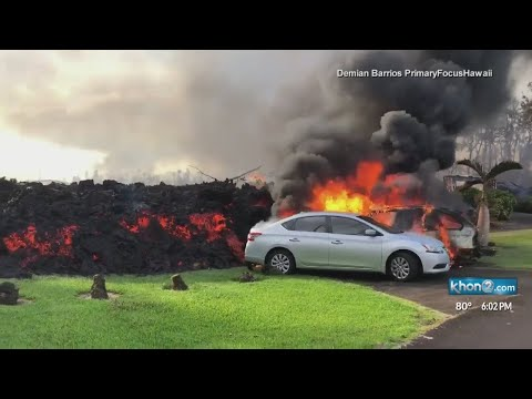 Residents describe 'devastating' return after Kilauea's lava claims dozens of homes