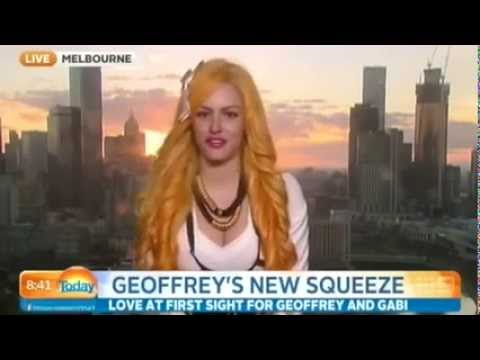 Today - Geoffrey Edelsten's new girlfriend Gabi Grecko