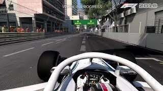 F1 2018  - Charles Leclerc at Monaco - Early Gameplay