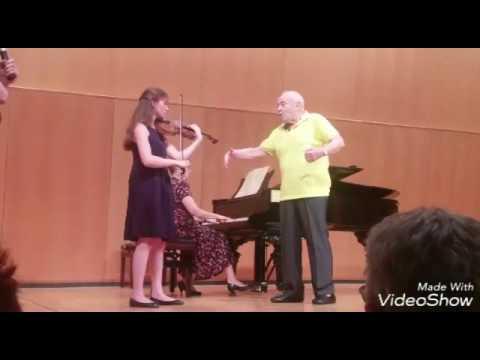 Eduard Grach Masterclass- Keshet Eilon 2016