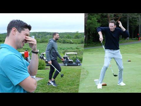 Biz Nasty/Ryan Whitney vs Sidney Crosby/Nathan MacKinnon: The CCM Sandbagger Invitational
