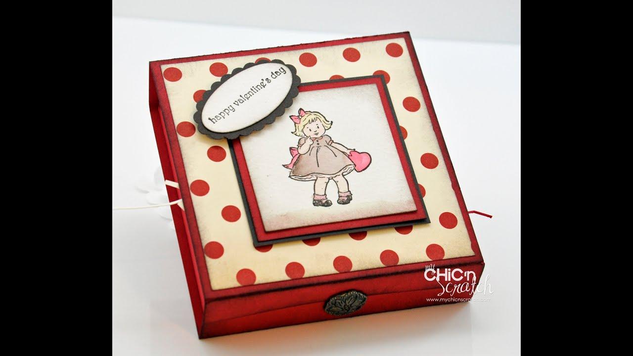 Greeting Card Kids Valetine Box