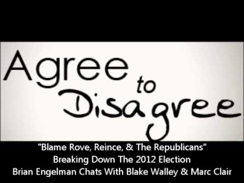 Blame Rove, Reince & The Republican Establishment For 2012 Election. Brian, Blake & Marc Discuss.