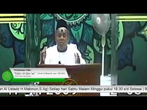 [LIVE] Kajian Mingguan Majelis Ta'lim Yayasan Arridho   Al Ustadz H.Makmun,S.Ag (04  Januari 2020)