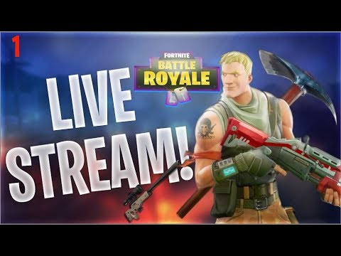Fortnite Battle Royale Stream! No Wins All Losses