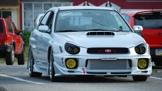 Best Bugeye Subaru Impreza WRX exhaust sounds 2001 2002