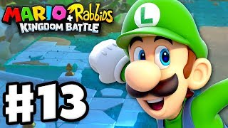 Mario + Rabbids Kingdom Battle - Gameplay Walkthrough Part 13 - Run Luigi!