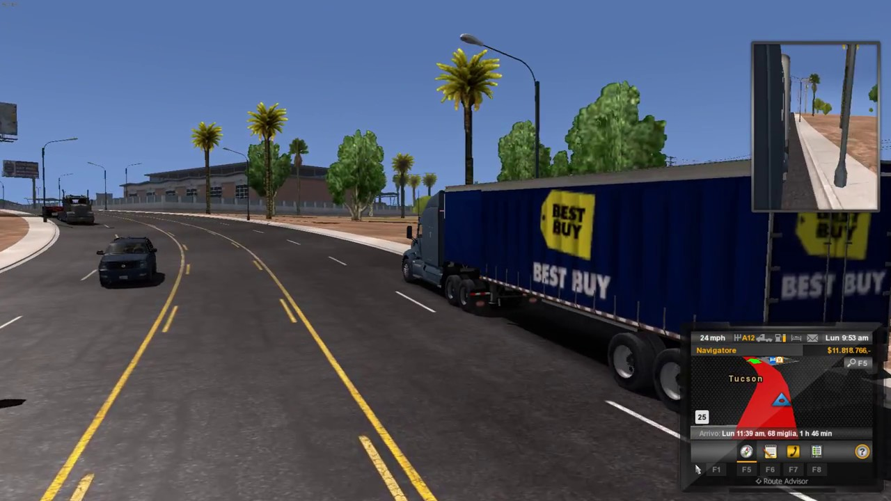 American Truck Simulator (1 28) AI Traffic Pack by Jazzycat v 3 0 + DLC's &  Mods