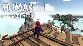 Human Fall Flat - Human of the Caribbean - HUGE LEVEL [Workshopop] - Gameplay, Walkthrough