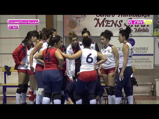 Colonnetta vs Villalba - 2° Set