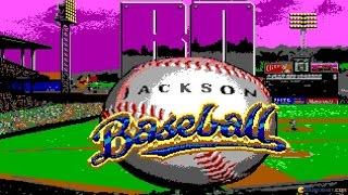 Bo Jackson Baseball gameplay (PC Game, 1991)