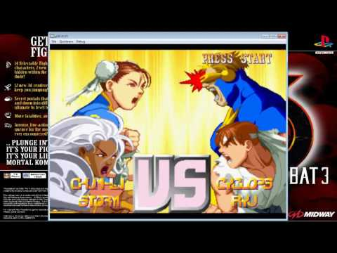 X-Men vs. Street Fighter - Chun Li/Storm - 5 Round - Master(8STAR) - PlayStation - Capcom