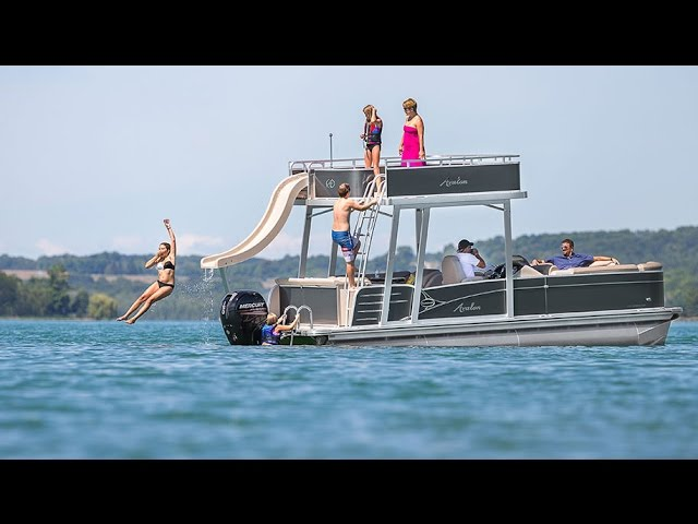 pontoon video, pontoon clip