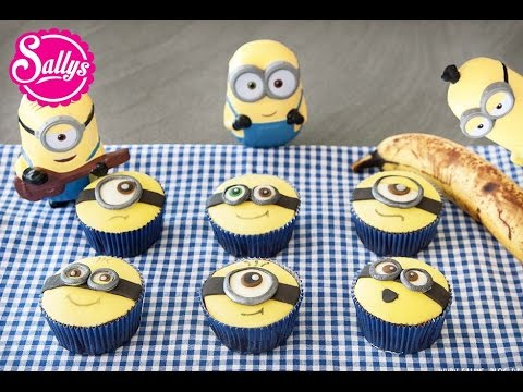 minion muffins minion cupcakes bananenmuffins die minions zu besuch in meiner k che youtube. Black Bedroom Furniture Sets. Home Design Ideas