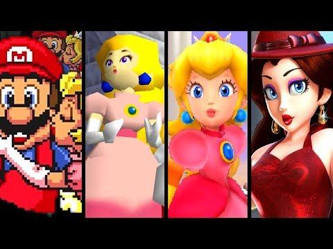 Super Mario Evolution Of MARIO'S GIRLS 1985-2017 (Pauline To Peach)