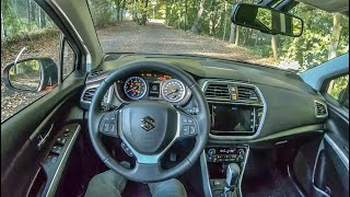 Suzuki SX4 II S-cross | 4K POV Test Drive #323 Joe Black