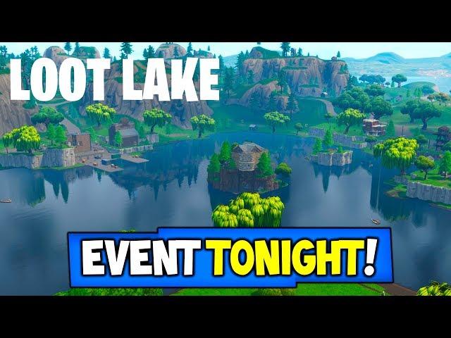 "FORTNITE ""Good bye Loot Lake"" EVENT TONIGHT! | DONT MISS IT!"