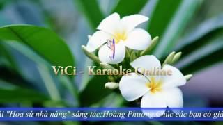 Hoa Sứ Nhà Nàng - Hát Karaoke Việt Nam Online Miễn Phí