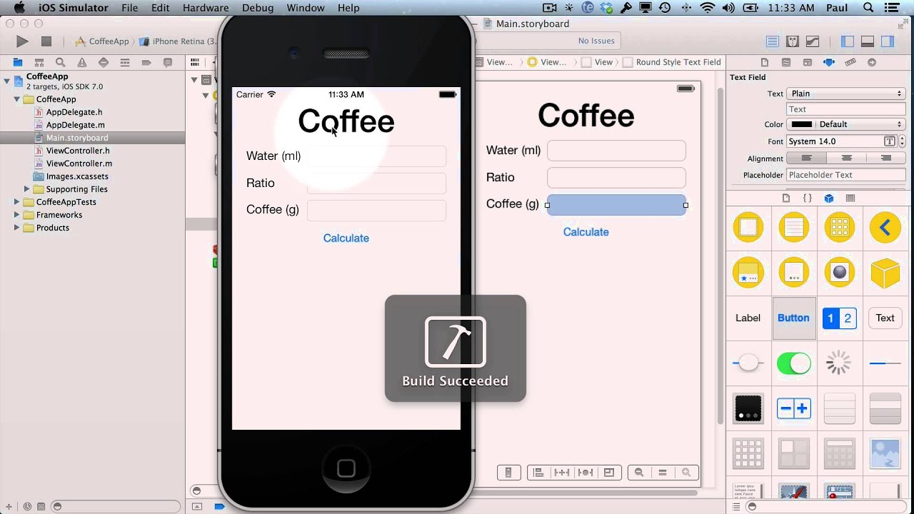 Iphone apps 101 create your first iphone app with xcode 5 for Designing an iphone app