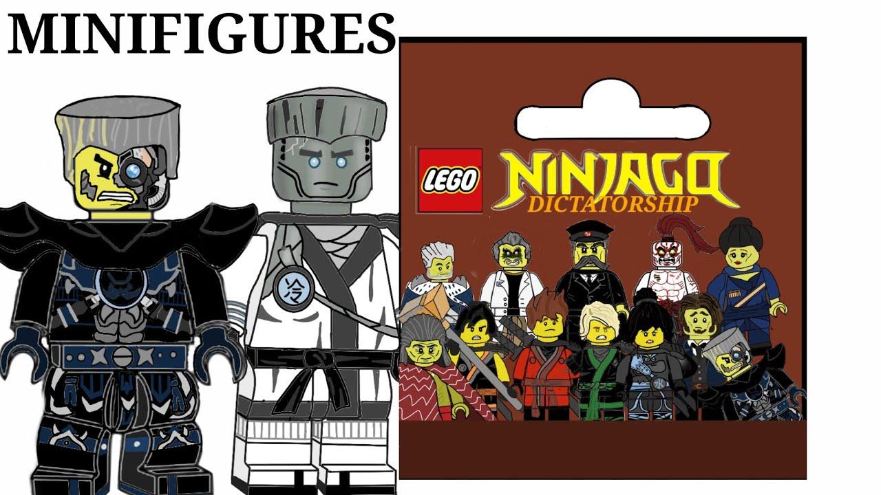 LEGO Ninjago: DICTATORSHIP Custom CMF Series! - YouTube