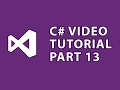 C# Tutorial 13 LINQ Extension Methods の動画、YouTube動画。