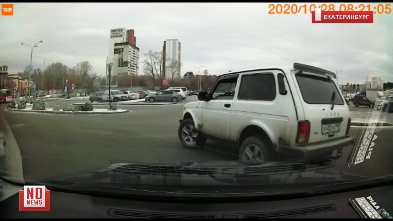 Мужик на Ниве отомстил девушке и исцарапал машину
