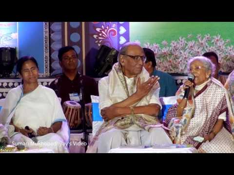 """TABO BINE SANGEETO"" .... Sandhya Mukhopadhyay singing in Jago Bangla's Programme at Najrul Mancha"