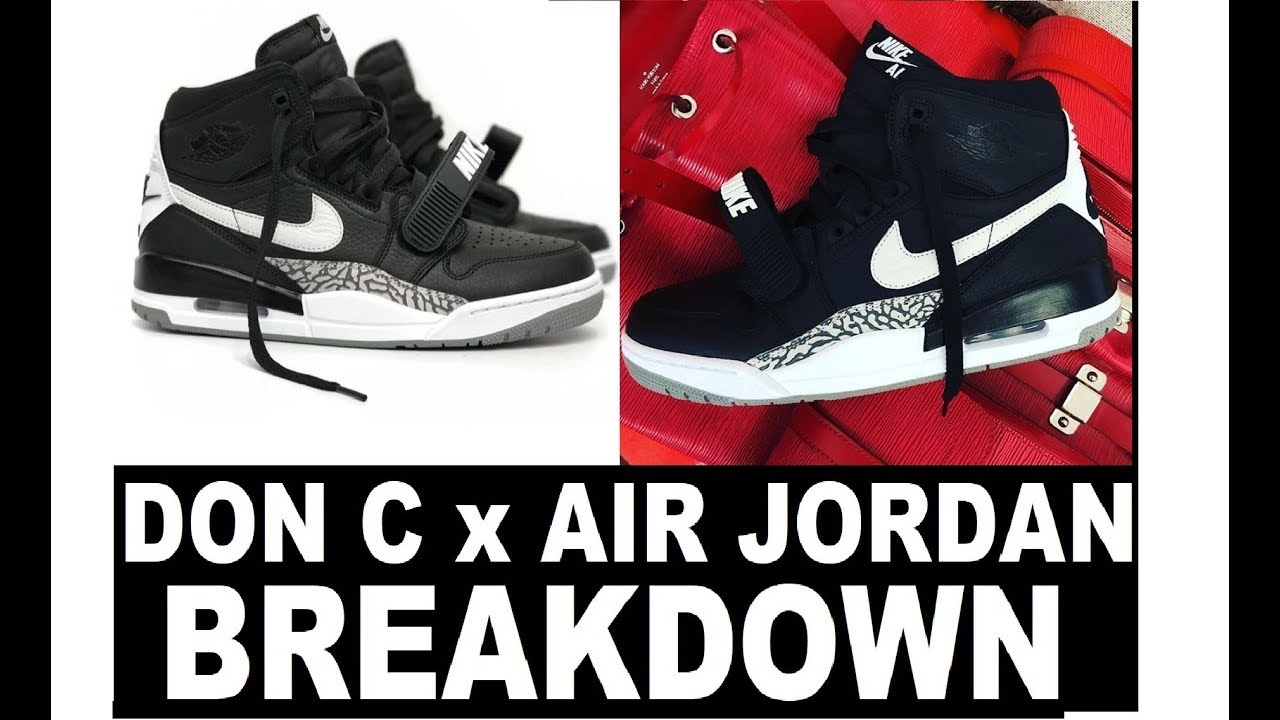 DON C x AIR JORDAN LEGACY 312 NEXT COLLAB SHOE - EVERYTHING YOU NEED TO  KNOW BREAKDOWN