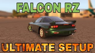 Falcon RZ Ultimate Setup + Test Drive! (Mazda RX-7) CarX Drift Racing