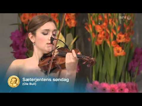 Guro Kleven Hagen playing Ole Bull - 16.06.12.avi