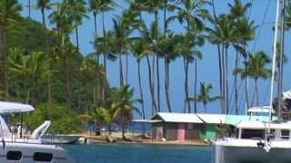 Caribbean Sailing Tour - Part 3 of 4 - Bahamas, St Kitt's, Nevis, Dolphins and more!
