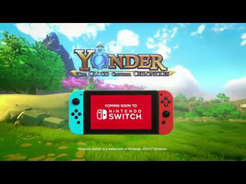 Yonder: The Cloud Catcher Chronicles | Switch Announce Trailer
